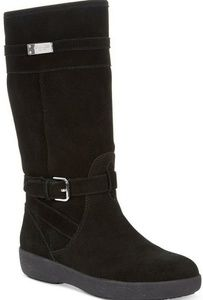 Coach Tallulah Mid Calf Suede Boots